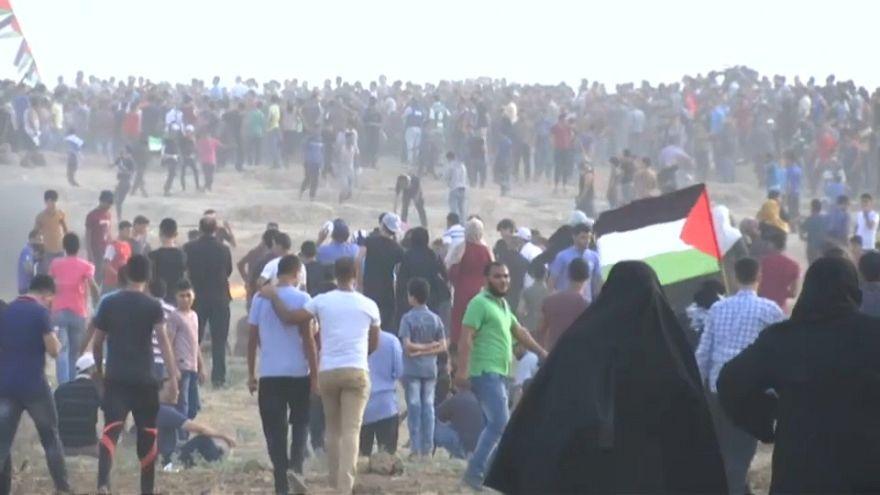مظاهرات العودة في قطاع غزة الجمعة 19 أكتوبر تشرين الأول 2018