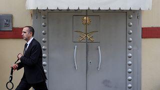 القنصلية السعودية بمدينة إسطنبول في تركيا