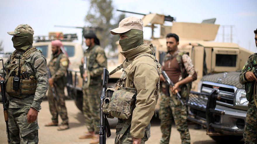 کشته شدن ۳۵ جنگجوی داعشی در جریان درگیری های شرق سوریه