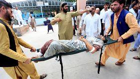 Afganistan'da seçimler: Kabil'de intihar saldırısı sonucu en az 10 kişi hayatını kaybetti