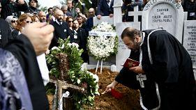 Duayen fotomuhabiri Ara Güler, Şişli Ermeni Mezarlığı'nda toprağa verildi