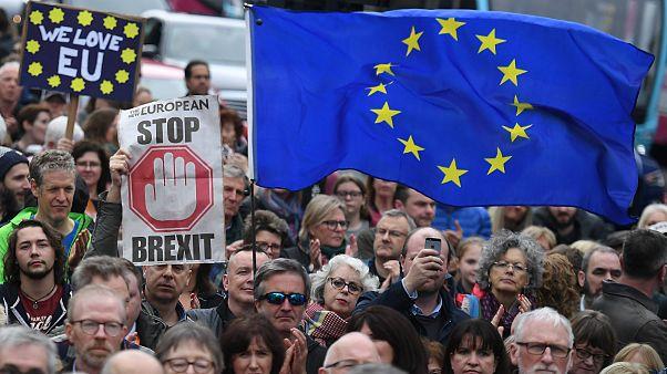 تظاهرات صدها هزار نفری مخالفان برکسیت در پایتخت بریتانیا