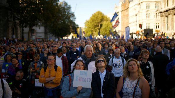 Manifestation massive anti-Brexit à Londres