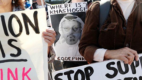 تظاهرات معترضان به قتل جمال خاشقجی در واشنگتن