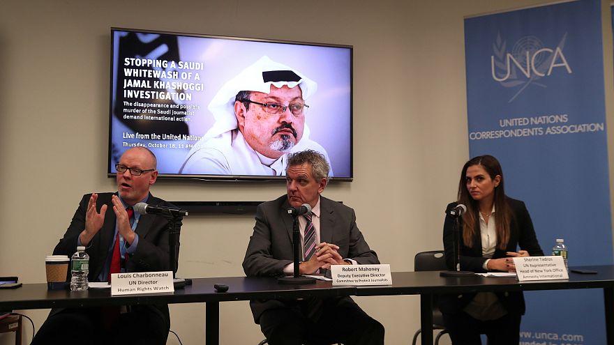 العفو الدولية تطالب السعودية بالكشف عن وتسليم جثة خاشقجي