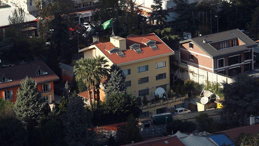 مبنى قنصلية المملكة العربية السعودية في إسطنبول