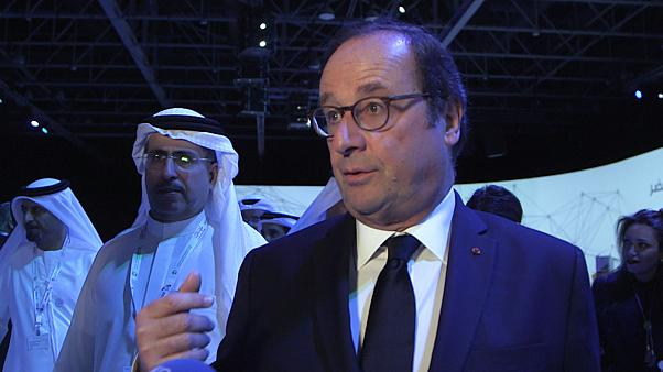 """We must not wait"" - Former French President Hollande urges for green commitment at WGES"