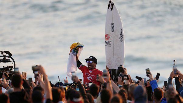 Surf : Ferreira au sommet de la vague portugaise