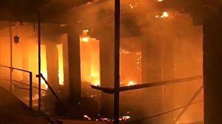 Пожар во Владикавказе потушен
