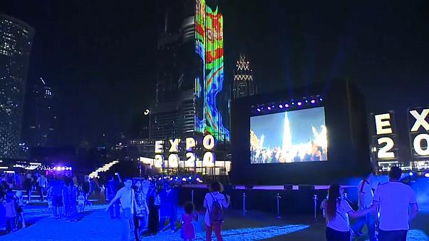 Watch: Dubai ExpoLight show