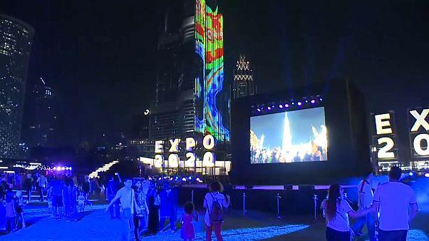 Dubai: Mit Lichtershow wird Countdown zur Expo eröffnet