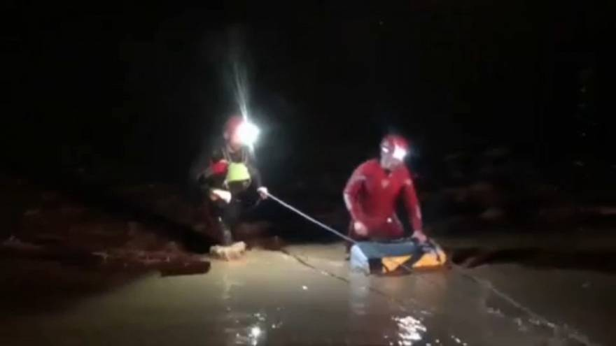 Fallece un bombero durante las inundaciones en Málaga