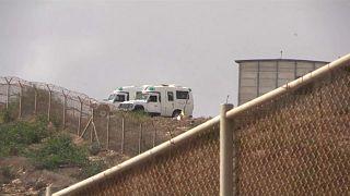 Frontière de Melilla : un mort et plusieurs réfugiés blessés