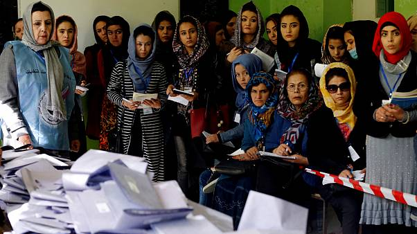 انتخابات افغانستان؛ پایان رای گیری و شمارش بیش از هشتاد درصد آرا