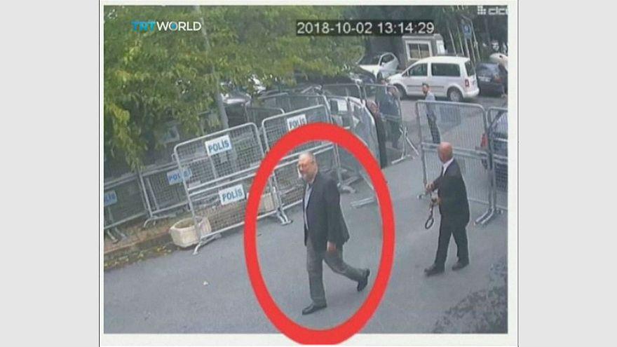 شاهد: صور جديدة لخاشقجي وخطيبته قبل دخوله القنصلية السعودية في إسطنبول