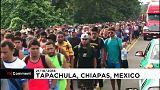 Messico, la carovana dei migranti