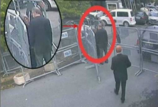Watch: Jamal Khashoggi enters the Saudi consulate