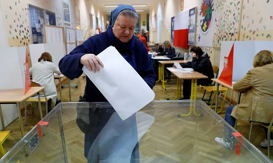 Local vote in Poland tests support for ruling conservatives