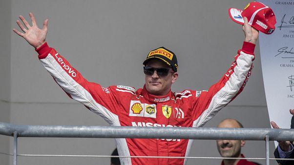 Da lächelt er (ein wenig): Kimi Räikönnen und sein 1. Sieg seit 2013 - in 10 Tweets