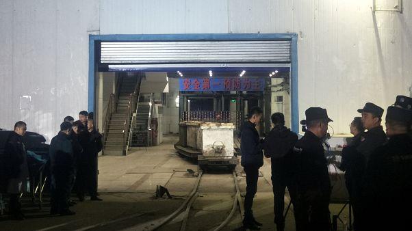 Újabb dolgozó halt meg a kínai bányabalesetben
