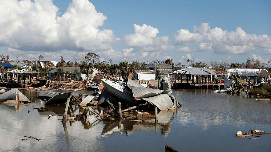 ABD'de etkili olan kasırga, 19'uncu yüzyıldan kalma gemi enkazını ortaya çıkardı