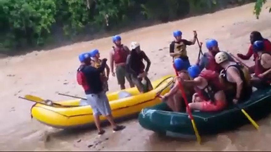 Halálos raftingbaleset Costa Ricában