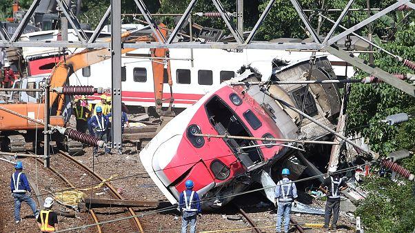 Taïwan : un accident de train toujours inexpliqué