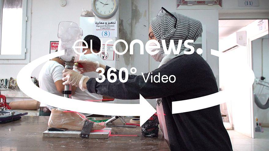 Generációk szorulnak rehabilitációra Szíriában