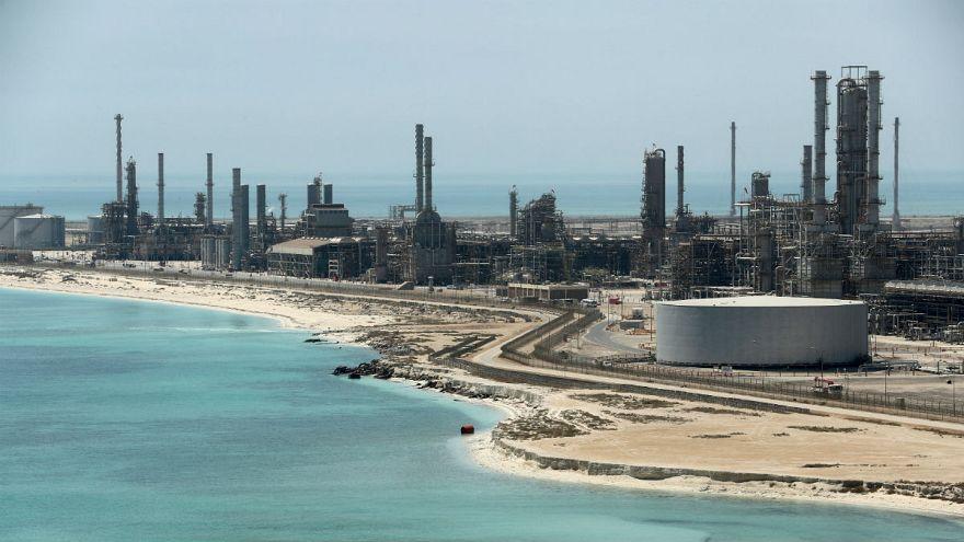 تأسیسات شرکت نفتی آرامکو - عربستان سعودی