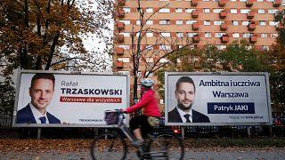 La oposición al Gobierno polaco gana en Varsovia con el 54% de apoyos