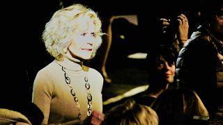 Hollywood yıldızı Jane Fonda Lumiere Ödülü'nü aldı Foto: Bahtiyar Küçük