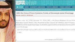 Saudi-Arabien: König und Kronprinz kondolieren Familie Khashoggi