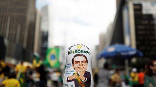 Matrioska de Bolsonaro em Sâo Paulo