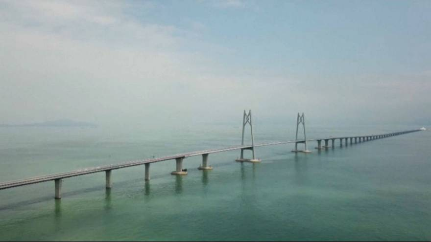پایان ساخت طولانیترین پل دریایی جهان در چین