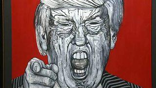 Ο Τραμπ και ο πολιτικός του κύκλος με τα μάτια ενός καλλιτέχνη