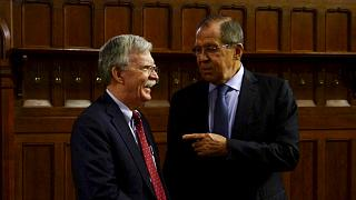 Sergey Lavrov reunido com Conselheiro para Segurança Nacional dos EUA