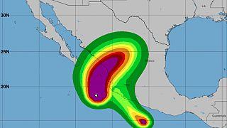 Hurricane Willa wind speeds
