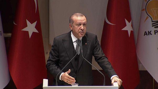 Erdogan charge Riyad devant des parlementaires