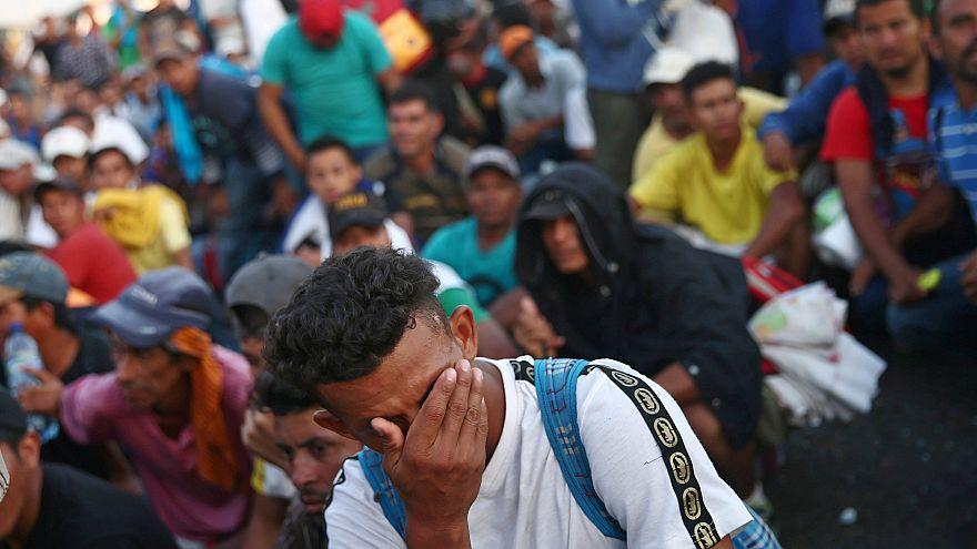 Trump denuncia presença de criminosos e extremistas na caravana
