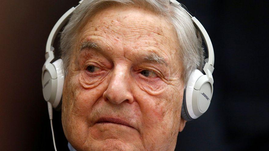 Bombát küldtek Soros Györgynek
