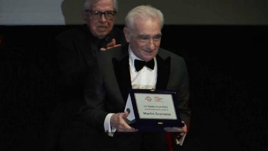 Martin Scorsese életműdíjat kapott Rómában