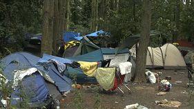 France : évacuation d'un campement de réfugiés dans le Nord