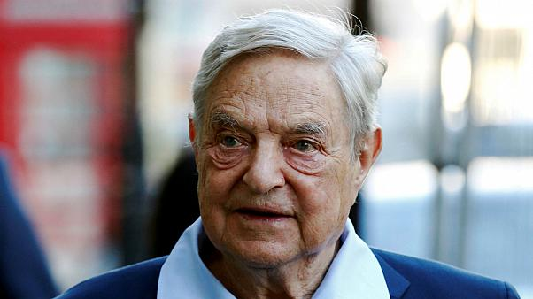 Suspected bomb found outside home of billionaire Soros, say police