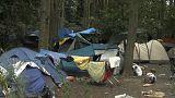 الشرطة الفرنسية تجلي 1800 مهاجر من مخيم شمال البلاد
