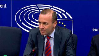 """Manfred Weber: """"Csalódott vagyok, amiért én nem szereplek a magyar kormány kampányában"""""""