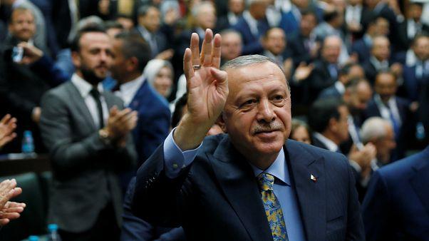 Erdoğan: İstiklal Marşımız dışında bir ant tanımıyoruz, tanımayacağız