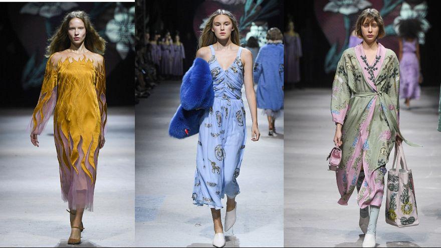 Extravagant taste and grandeur at Russia Fashion Week