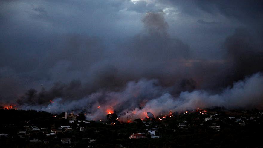 Grecia: la protezione civile europea in aiuto di Mati