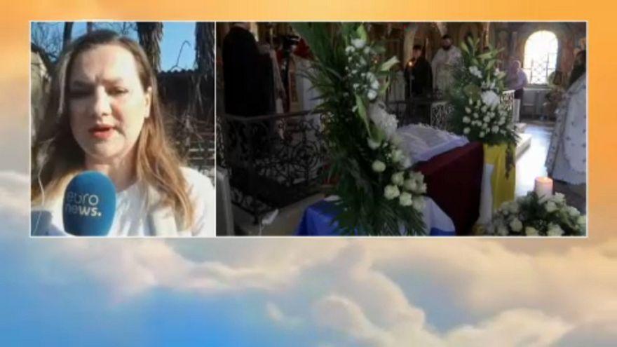 CoComienzan los funerales en memoria de las víctimas de los incendios de Grecia