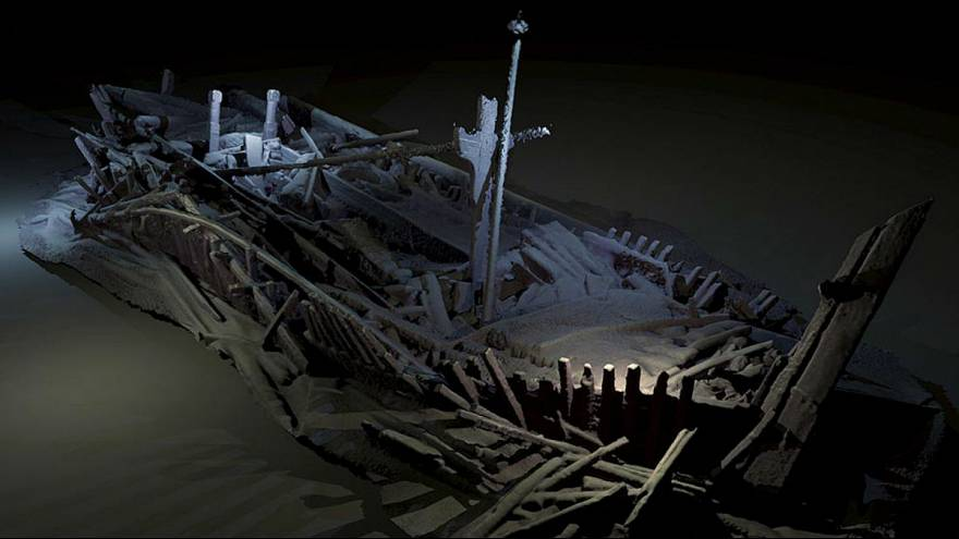 قدیمیترین کشتی غرق شدۀ جهان، دست نخورده پیدا شد